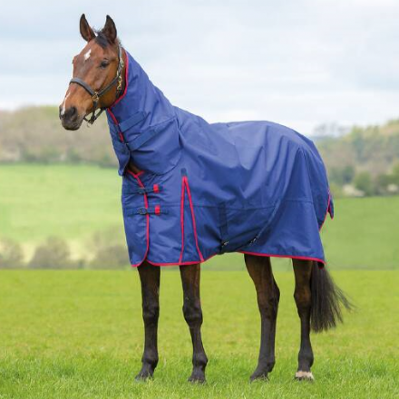 Bridleway Ontario Turnout 0g Combo Navy & Red